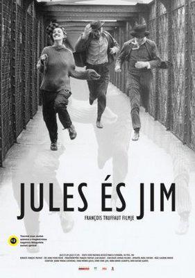 Jules y Jim - Poster Hongrie
