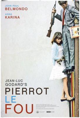 Pierrot le Fou - Poster Etats-Unis