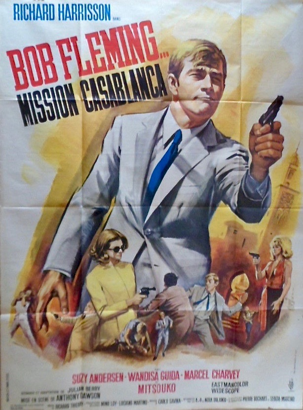 Bob Fleming, mission Casablanca