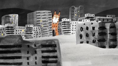 Un lince en la ciudad