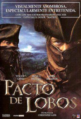 Le Pacte des loups - Poster Argentine