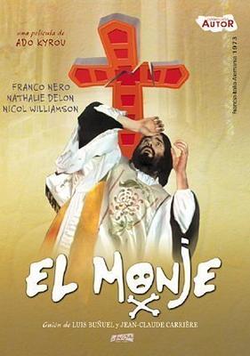 The Monk - Jaquette DVD Espagne