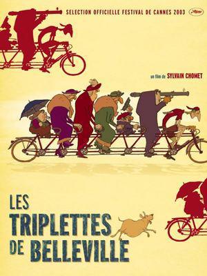 Les Triplettes de Belleville / ベルヴィル・ランデブー - Poster - France