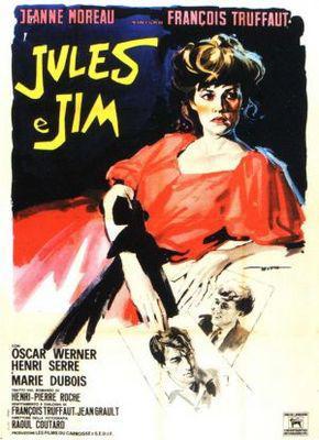 Jules y Jim - Poster Italie