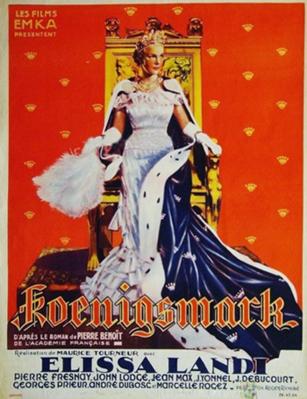 Koenigsmark - Poster Belgique