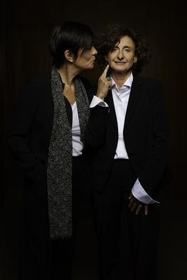 Le Festival de Toronto en images - Catherine Corsini et la productrice Elisabeth Perez - © Jean-Baptiste Le Mercier/UniFrance films