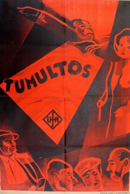 Tumultes - Poster Espagne
