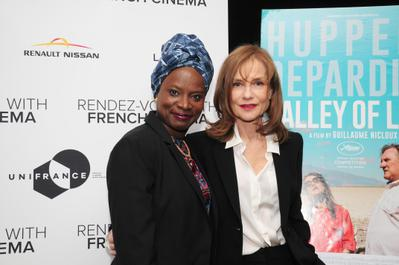 Rendez-Vous With French Cinema en Nueva York - 2016 - Angélique Kidjo et Isabelle Huppert