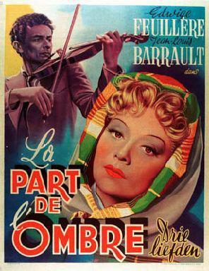 La Part de l'ombre - Poster Belgique