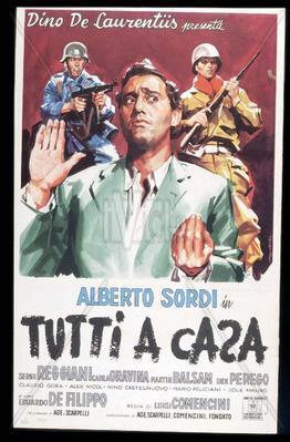La Grande Pagaille (Quand la guerre finira...) - Poster Italie