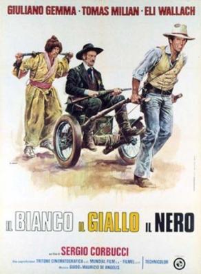 Le Blanc, le Jaune et le Noir - Poster Italie