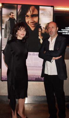 On Set with Juliette Binoche à New York