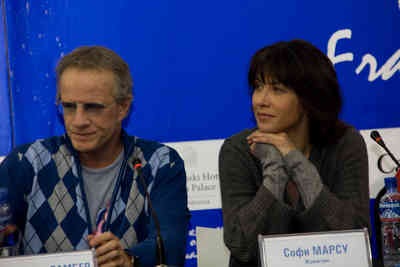 Sophie Marceau and Christophe Lambert blaze a trail in Mongolia - © uniFrance / Dr
