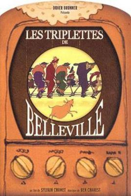 Les Triplettes de Belleville / ベルヴィル・ランデブー - Poster - France (DVD)