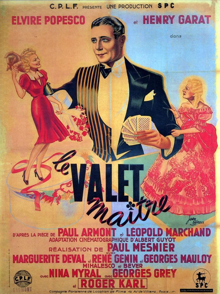 Le Valet maître