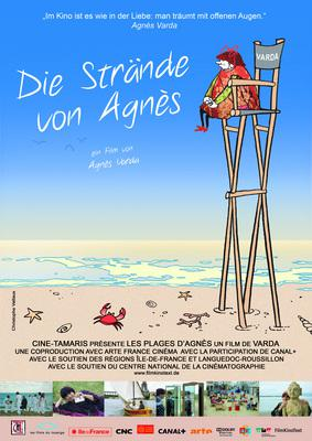 The Beaches of Agnes - Poster - Deutschland