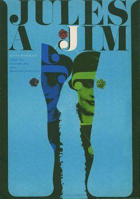 Jules y Jim - Poster République tchèque
