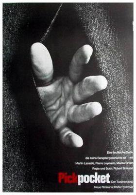 Pickpocket - Poster Allemagne
