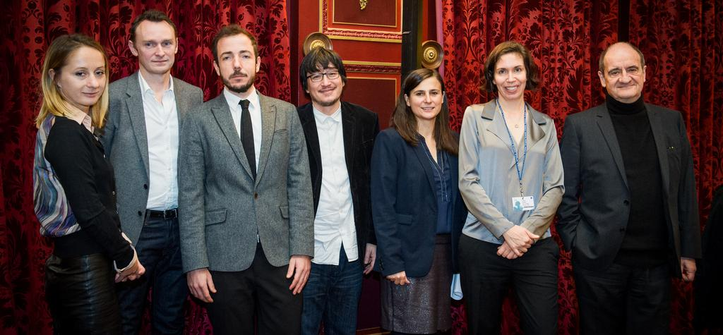 A roundtable on VOD organized by uniFrance films