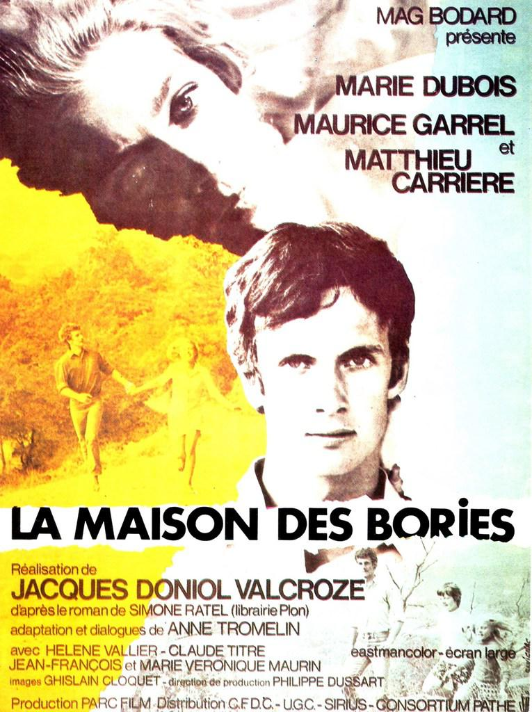 The House of the Bories - Poster France