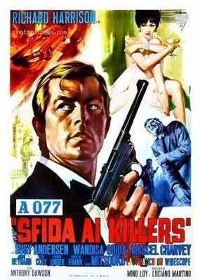 077 Desafío a los asesinos - Poster - Italy