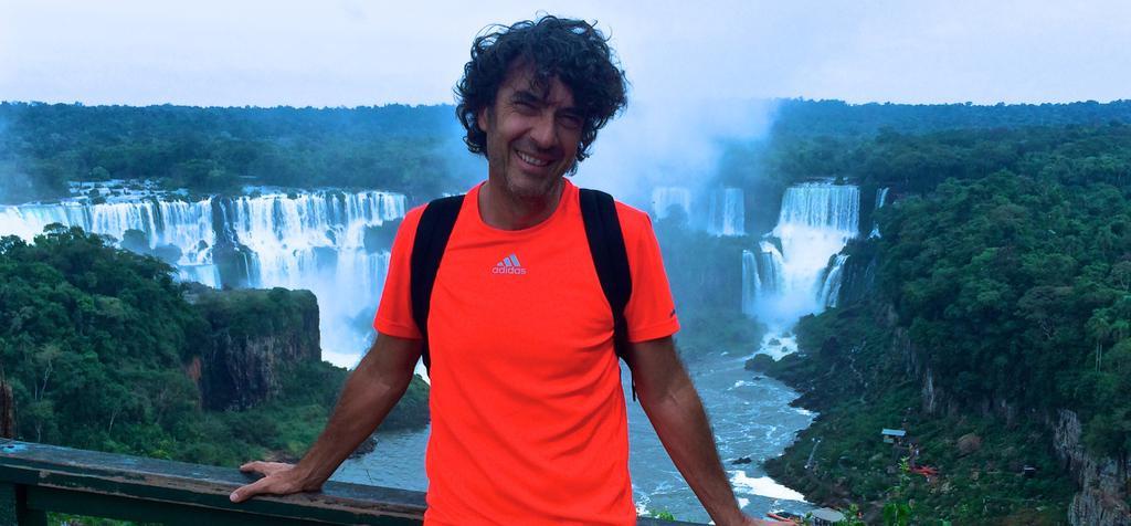 Barbecue en Argentine pour Eric Lavaine
