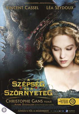 Beauty and the Beast - Poster - Hungary