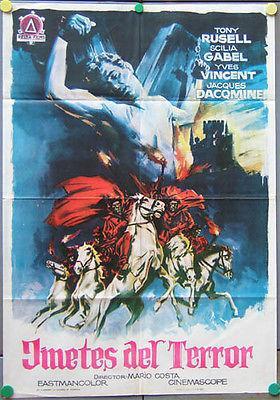 Les Cavaliers de la terreur - Poster Espagne