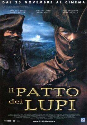 Le Pacte des loups - Poster Italie