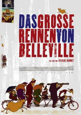 Les Triplettes de Belleville / ベルヴィル・ランデブー - Poster - Germany