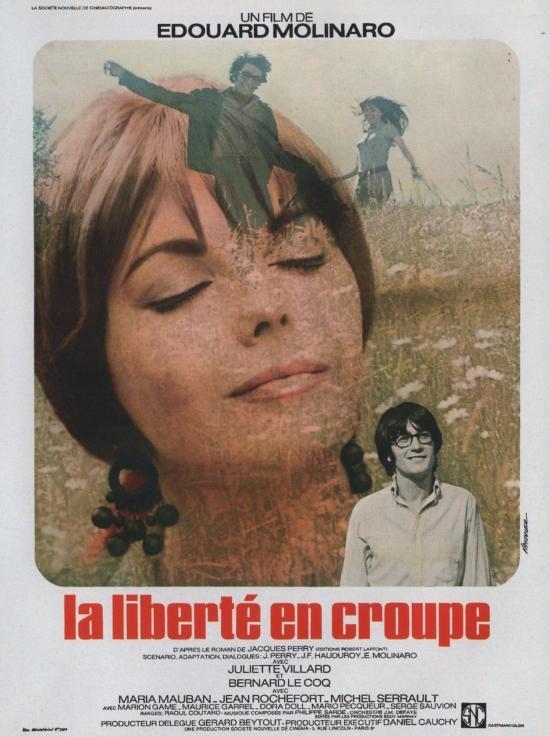La Liberté en croupe - Poster France