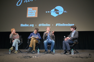 Record-breaking success for the 2018 edition of the Rendez-Vous with French Cinema in New York - Q&A Emmanuel Finkiel et Mélanie Thierry - © @Jean-Baptiste Le Mercier/UniFrance