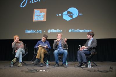 Succès historique pour l'édition 2018 des Rendez Vous with French Cinema in New York - Q&A Emmanuel Finkiel et Mélanie Thierry - © @Jean-Baptiste Le Mercier/UniFrance