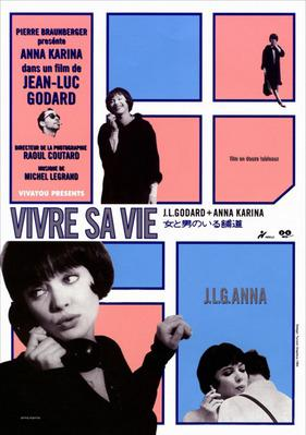 Vivre sa vie - Poster - Japan