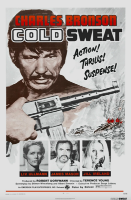 Cold Sweat - Poster - USA