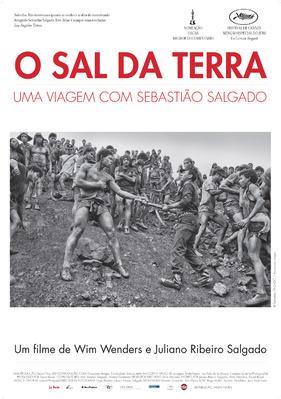 Le Sel de la terre - Poster - Portugal