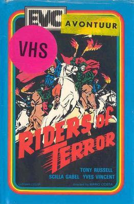 Les Cavaliers de la terreur - Jaquette VHS Pays-Bas
