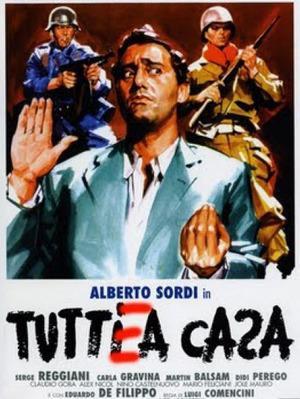 Todos a casa - Poster Italie