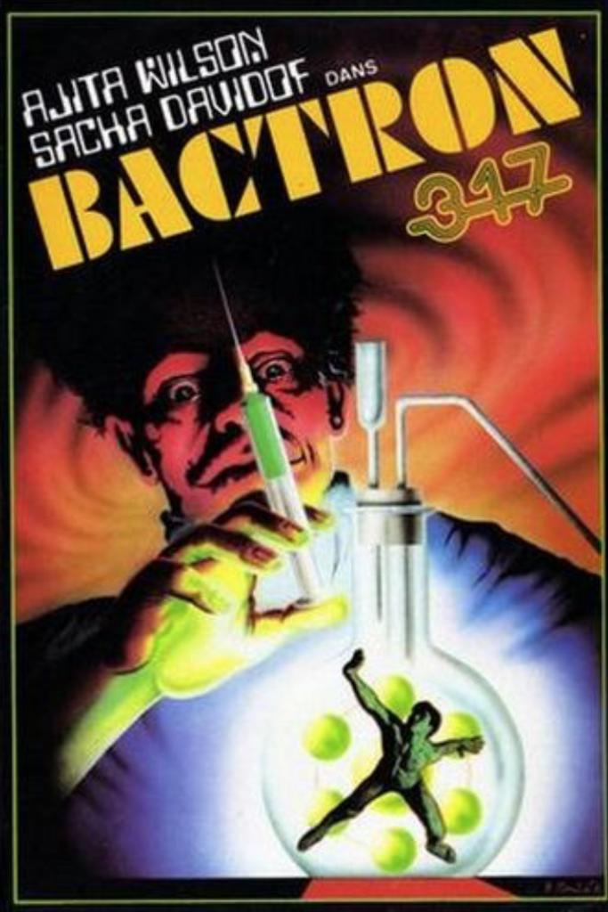 Bactron 317 ou L'Espionne qui venait du show - Jaquette VHS France