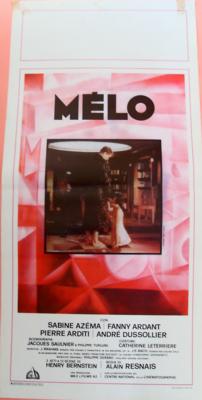 Mélo - Poster Italie