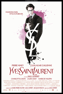 Yves Saint Laurent - Poster Etats-Unis