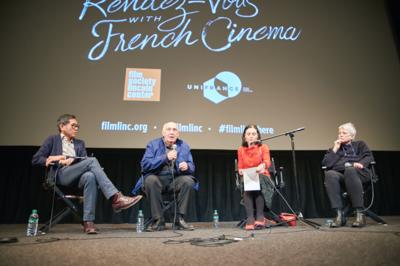Exito histórico de la edición 2018 de los Rendez-Vous con el Cine Francés de Nueva York - Q&A Raymond Depardon & Claudine Nougaret - © @Jean-Baptiste Le Mercier/UniFrance