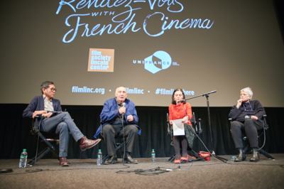 Record-breaking success for the 2018 edition of the Rendez-Vous with French Cinema in New York - Q&A Raymond Depardon & Claudine Nougaret - © @Jean-Baptiste Le Mercier/UniFrance