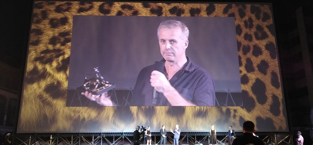 Bruno Dumont receives the Pardo d'onore at the Locarno Film Festival