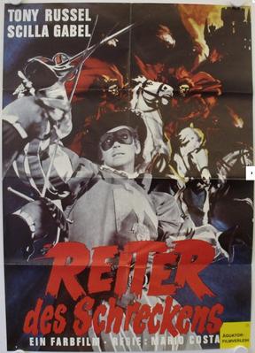Les Cavaliers de la terreur - Poster Allemagne