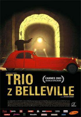 Les Triplettes de Belleville / ベルヴィル・ランデブー - Poster - Poland