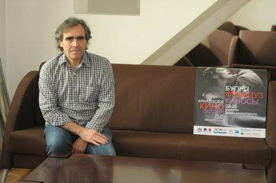 Report on the 1st Kazakhstan French Film Festival - François Dupeyron (director,