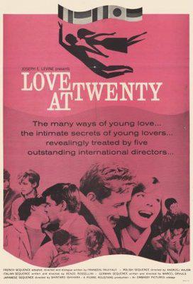 二十歳の恋 - Poster Etats-Unis