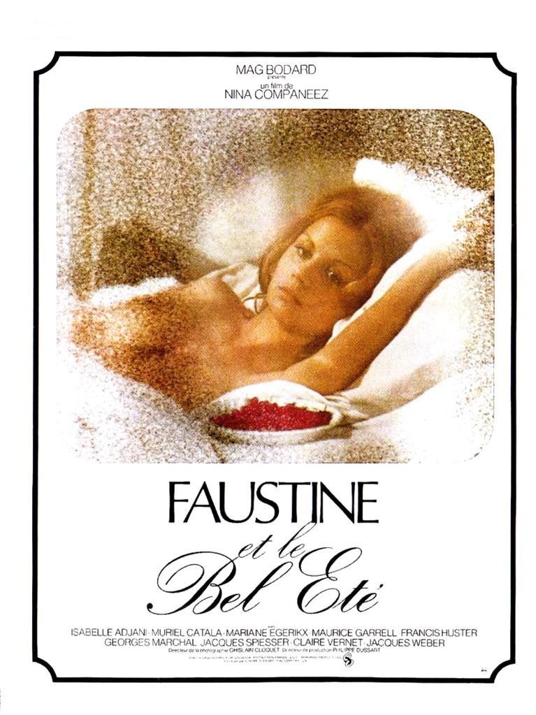 Faustine et le bel été - Poster France