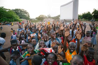 Report on the 1st Afrique Junior Festival - © Les Villages Enchantés